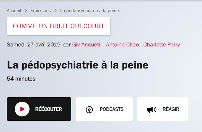 Emission france inter lutte des CMP 27.04.2019 #bloquonsblanquer