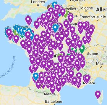 Carte mobilisation #bloquonsblanquer
